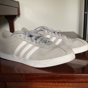 Grey Adidas Neo Shoes